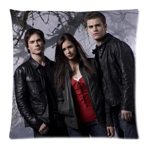 The Vampire Diaries Custom cuscino federa 45,7x 45,7cm con cerniera due lati