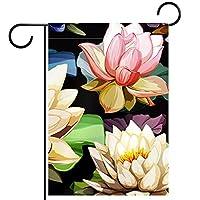 庭の装飾の屋外の印の庭の旗の飾りスイレン テラスの鉢植えのデッキのため