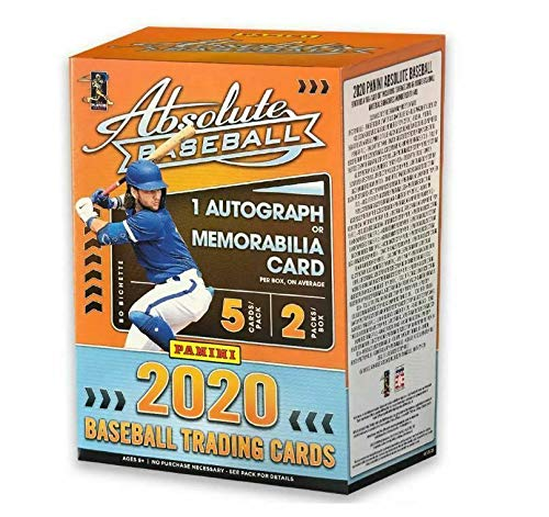 2020 Panini Absolute Baseball BLASTER box (10 cards incl. ONE Memorabilia or Autograph card)