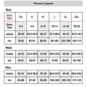 Hanes Sport Women's Compression Racerback Sports Bra,Black,Medium
