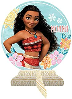 Amscan 281832 Table Centerpiece | Disney Moana Collection, Blue, One Size