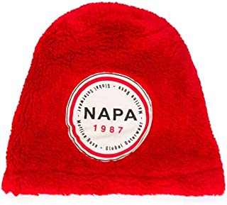 NAPA BY MARTINE ROSE Luxury Fashion Mens NA4DUTRARHIGHRISKRED Red Hat   Fall Winter 19