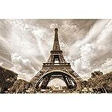 BilligerLuxus - Papel pintado (210 x 140 cm), diseño de Torre Eiffel