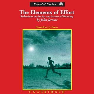 The Elements of Effort audiobook cover art