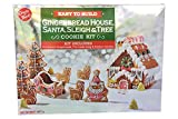 Gingerbread House, Santa, Sleigh and Tree Festive Cookie Baking Kit