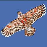 TQ Cometa, los niños Colorido pájaro del águila Cometa Adultos Carrete de la Cometa Tridimensional de Acero águila águila,C