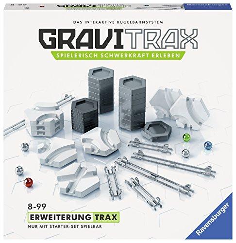 Ravensburger GraviTrax Erweiterung Trax - Ideales Zubehör für spektakuläre Kugelbahnen, Konstruktionsspielzeug für Kinder ab 8 Jahren