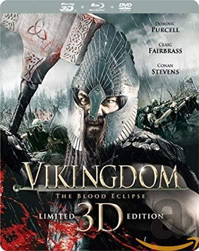 Vikingdom 3D Steelbook Blu-ray, Limited Steelbook Edition aus NL mit deutchem Ton (Englisch/English, Deutsch) Uncut, Blu-Ray 3D/ 2D + DVD, RAR