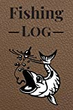 Fishing Log: Book For Fish Journal | Diary Notebook For kids, Boys, Men, Fisherman And Women Gift For Person Who Like Fishing Fish Party. It's An ... Hardback Cover 121 Pages 6 x 9 Inches Size
