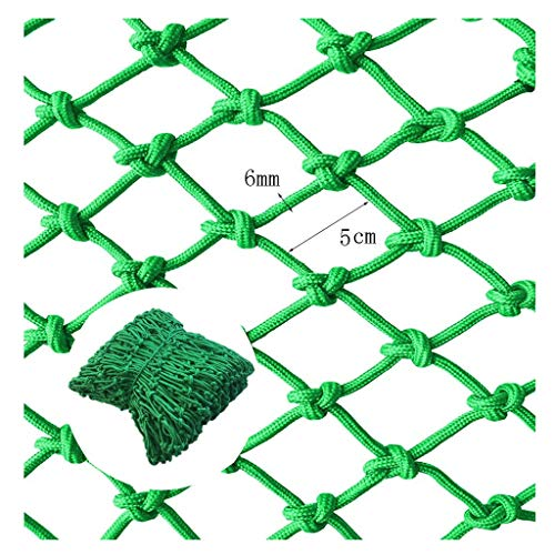 Veiligheidsnet voor kinderen netto decoratie netto uit Nylon Touw Net Groen, Balkon Veiligheid Netto Barrier Netto Trapleuning Onbreekbaar Netto Kleuterschool Decoratie Netto Speeltuin Hek Netto Trampoline Touw Netto