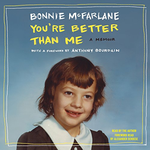 You're Better than Me audiobook cover art