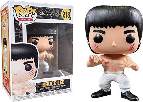 MEIQI Pop! Bruce Lee # 218 Pantaloni Bianchi da Collezione in edizione limitata
