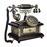 WSZMD Teléfono Pared Retro Resina Antigua Antigua Vintage Teléfono Clásico para Home Hotel Escritorios Habitación Sala De Estar con Teléfono Retro