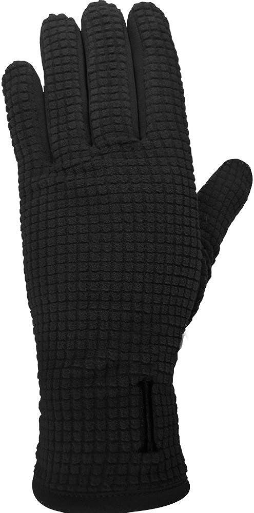 Igloos Women's Grid Fleece Texting Gloves