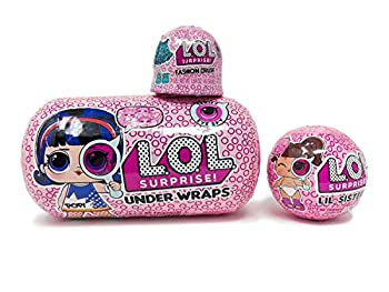 L.O.L Surprise Under Wraps Eye Spy Series 4.1 Bundle with Lil Sister and Fashion Crush.