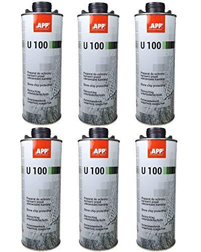 Fahrzeugteile Hoffmann Unterbodenschutz 1 L Schwarz oder Grau überlackierbar (6 Liter UBS schwarz)