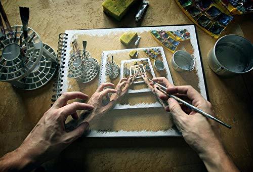 Decorsy Legpuzzel 1000 Stukjes Schilderij Canvas Perspectief Hand Kwast Moderne Woondecoratie Collectie
