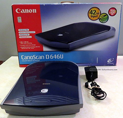 Why Should You Buy Canon CanoScan D646U USB Flatbed Scanner