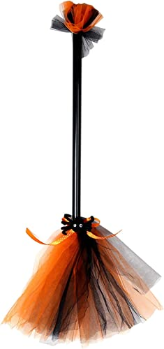 popular Halloween Witch Broom Halloween Wicked Witch online sale Broomstick Costume Ball Cosplay discount Decoration Costume Props online sale
