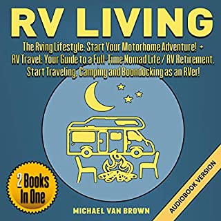 RV Living: The RVing Lifestyle audiobook cover art