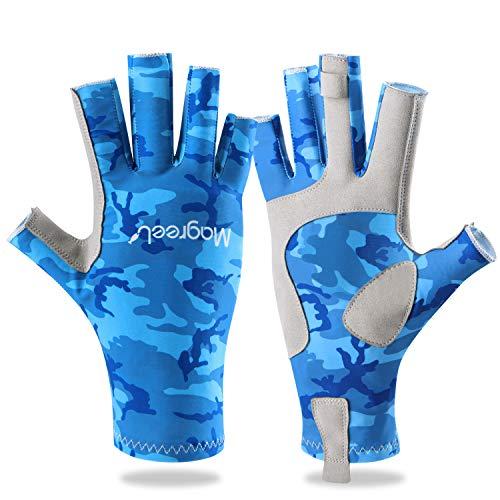 Magreel Angeln Handschuhe für Mä...