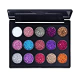 Kadola Multicolor Glitter Eyeshadow Palette Cosmetic Makeup Eye Shadow Powder Set Matt Available Neutral Smokey Blendable Long Lasting Cosmetic