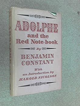 Hardcover Adolphe and The Red Notebook Book