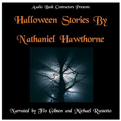 Halloween Stories by Nathaniel Hawthorne audiobook cover art