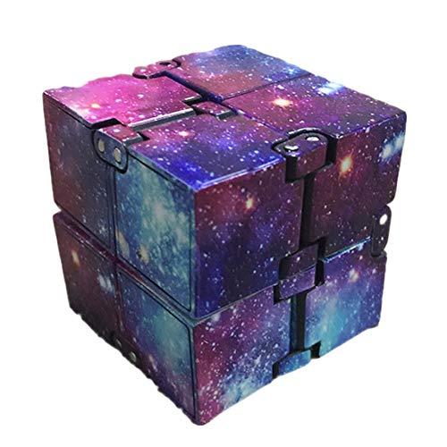 Infinity Cube für Kinder und Erwachsene, Unendlicher Würfel Spielzeug, Stress und Angst Relief Cool Hand Mini Kill Time Toys Unendlicher Cube ADHS