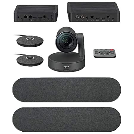 Logitech Rally Plus 960-001225 Premium Ultra-HD ConferenceCam System with Automatic Camera Control