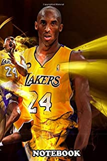 """Notebook: True Power Kobe , Journal for Writing, College Ruled Size 6"""" x 9"""", 110 Pages"""