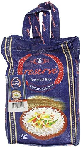Zafarani Reserve Basmathi Rice 10-Pounds by Zafrani [Foods]