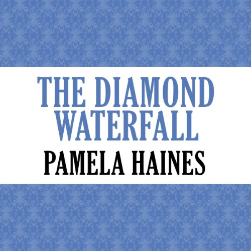 The Diamond Waterfall audiobook cover art