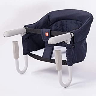 Portable Foldable Baby High Chair Folding Baby Hook On Seat For Home And Travel With Transport Bag,Easy Hook On Table Seat...