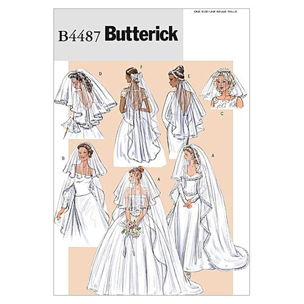 BUTTERICK PATTERNS B4487 Bridal Veils, One Size Only