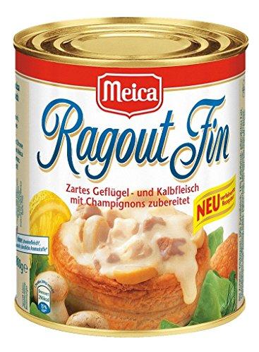 Meica - Ragout Fin Würzfleisch ohne Schweinefleisch und Farbstoffe - 800g