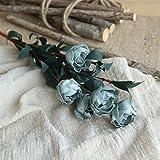 WZD Arreglo Floral de Bricolaje 6 Cabezas/Mini Bouquet Artificiales de Seda del Banquete de Boda de...