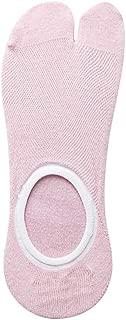 JustWin Toe Two Finger Socks Cotton Boat Socks Warmer Funny Socks Women Multicolor Low Cut Ankle Socks