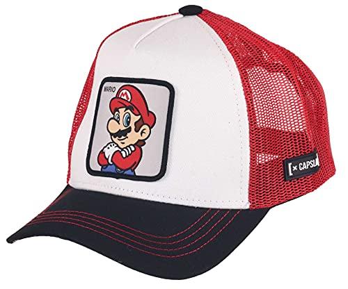 Capslab Mario Super Mario Trucker Cap - One-Size