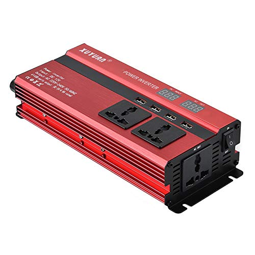 Coomir Auto Power Inverter LCD Display DC12V / 24 V zu AC110V / 220 V USB Solar Power Sinus konverter
