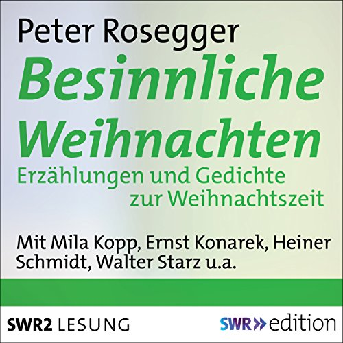 Besinnliche Weihnachten audiobook cover art