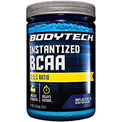 top rated The optimal ratio of 2: 1: 1 without BodyTech BCAA (branched chain amino acids) flavor promotes muscle regeneration … 2021