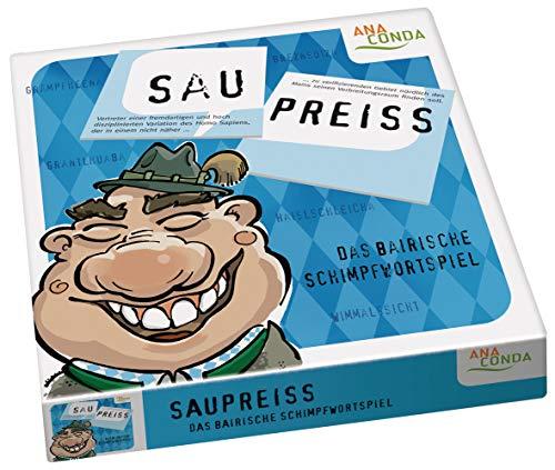 Anaconda Verlag Saupreiß - Das Bairische Schimpfwortspiel