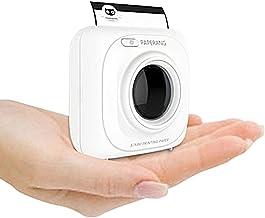 paperang P1/Mini impresora fotogr/áfica inal/ámbrico compatible con iPhone Android port/átil iPad Mac mallalah port/átil Bluetooth impresora instant/ánea con funda azul