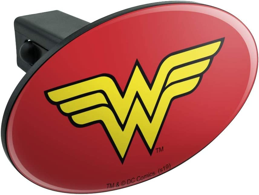 Graphics and More Justice League Movie Batman Logo Tow Trailer Hitch Cover Plug Insert 2