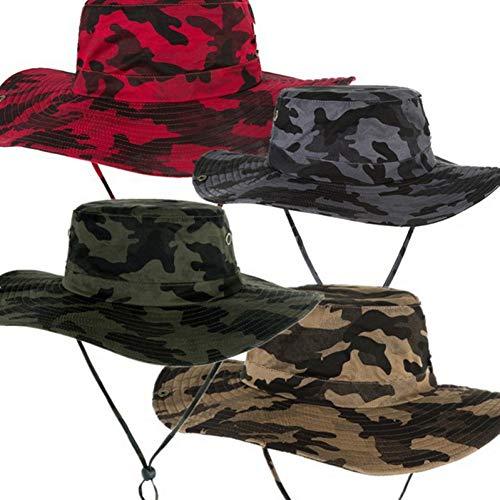 TYMDM Zon Hoed Mode Mannen Vrouwen Camouflage Emmer Hoeden Cowboy Hoed Casual Reizen Outdoor Snapback Flat Cap Feminino