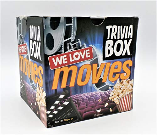 The Lakeside Collection Cardinal Games Trivia Box We Love Movies