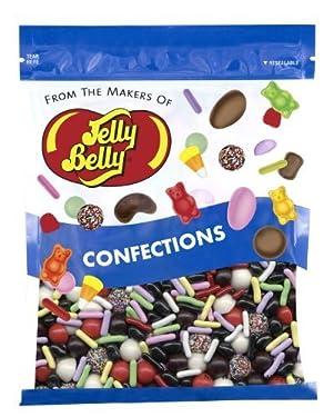 Jelly Belly Licorice Bridge Mix – 1 libra (16 onzas) bolsa resellable – Genuino, oficial, directamente de la fuente