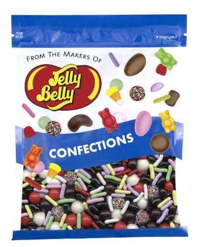 Jelly Belly Licorice Bridge Mix - 1 Pound (16 Ounces) Resealable Bag - Genuine, Official, Straight from the Source