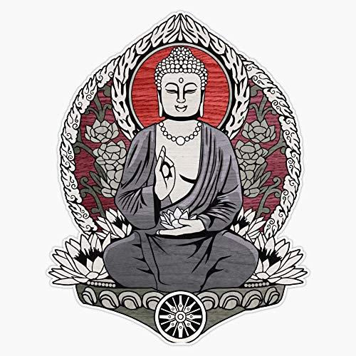 Gautama Buddha Sticker Vinyl Bumper Sticker Decal Waterproof 5'
